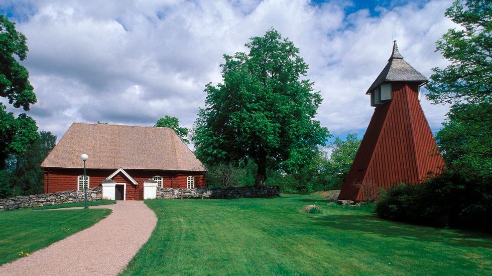 Fröskogs kyrka.