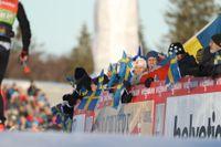 Världscuptävlingarna i Ulricehamn brukar locka mycket publik. I vinter finns det risk att loppen får avgöras utan åskådare. Arkivbild.