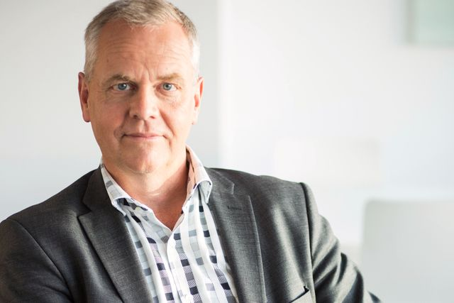 Lars-Erik Nykvist, vd på Fastighetsbyrån.
