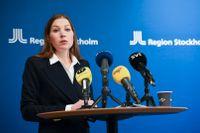 Ella Bohlin (KD), vårdutvecklingsregionråd i Region Stockholm.