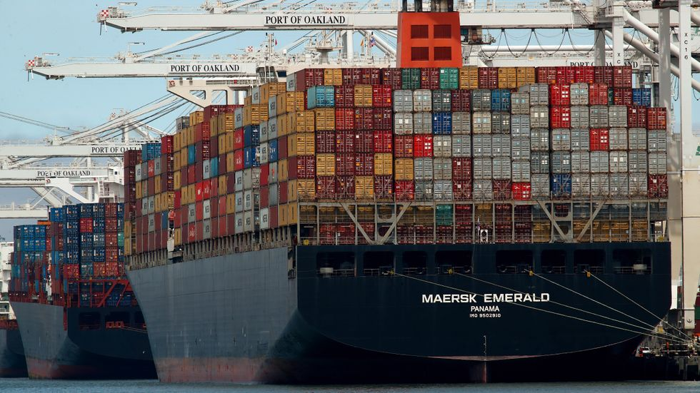 Maersk köper grönt. Arkivbild.