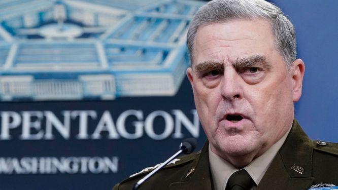 USA:s försvarschef Mark A. Milley.