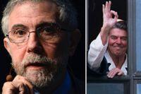 Paul Krugman och paret Reagan.
