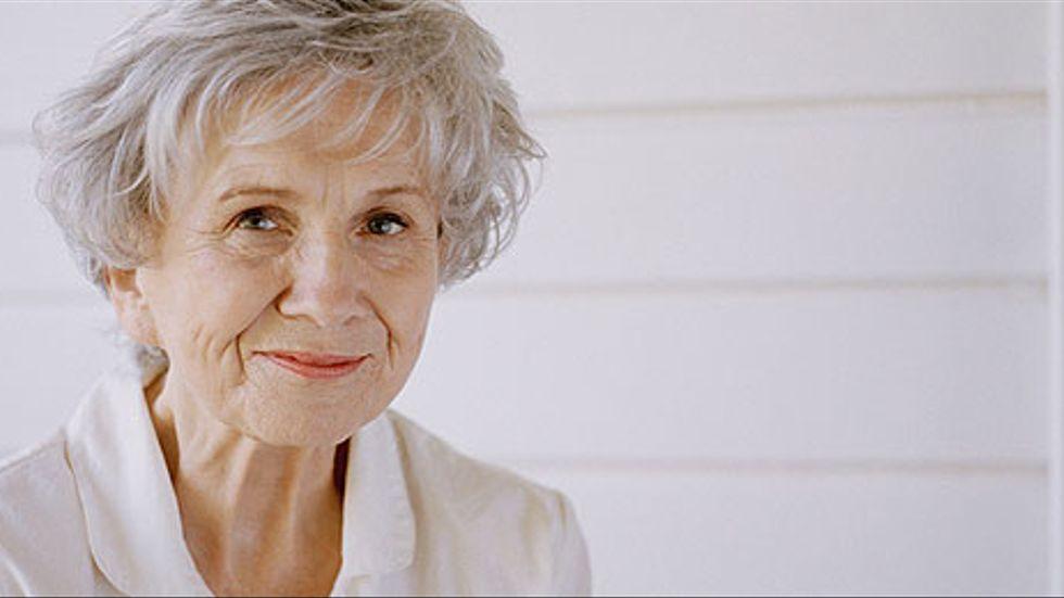 Alice Munro en av världens mest prisade novellister.