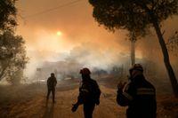 Värmeböljor, skyfall och glaciärer som smälter. FN:s klimatpanel IPCC pekade på snabba klimatförändringar i sin senaste rapport. Arkivbild.
