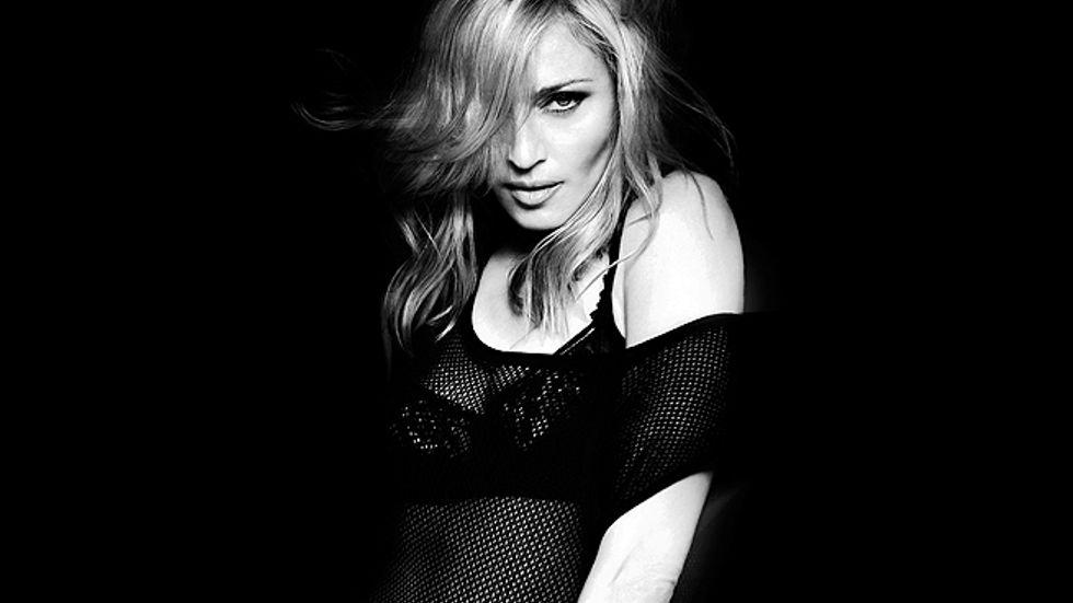 Madonna anno 2012.