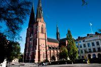 Färre personer har valt att lämna Svenska kyrkan 2020 jämfört med 2019. Arkivbild.