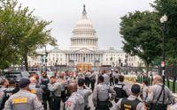 Nationalgardet redo för Trumpanhängare
