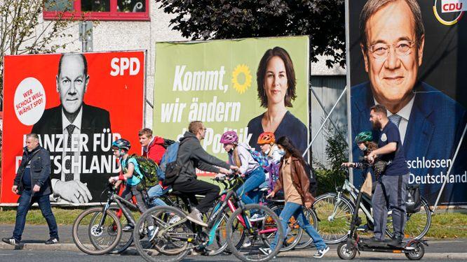 Vallokalerna är öppna – Scholtz har lagt sin röst