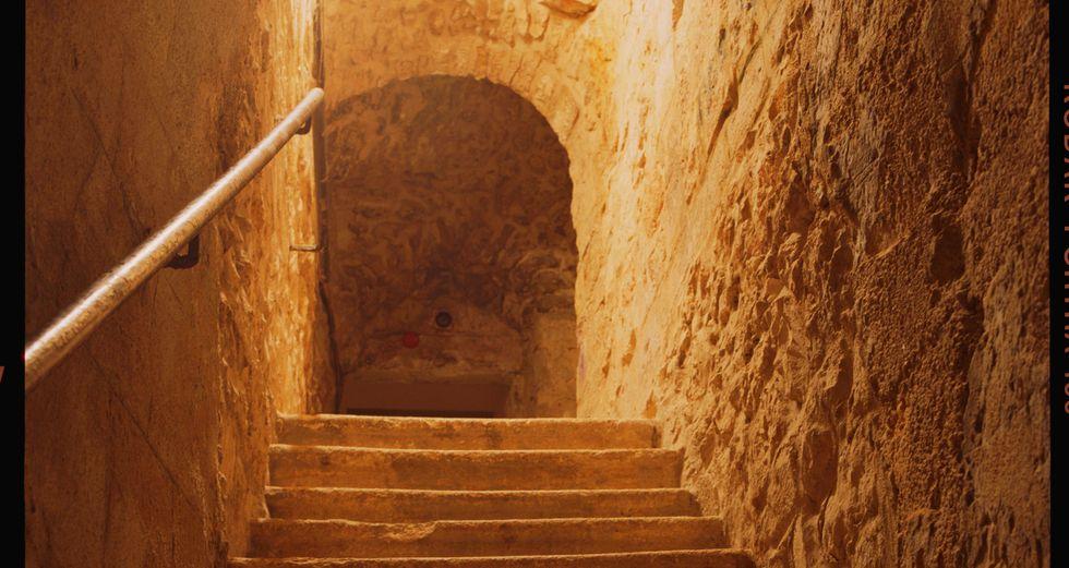 "Andres Serrano, ""Steps of light (Jerusalem)"", 2014."