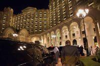 Hotell Ritz Carlton i den saudiska huvudstaden har fungerat som ett sorts lyxfängelse sedan november förra året. Nu återgår man till att bedriva hotellverksamhet igen. Arkivbild.