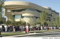 National Museum of the American Indian, NMAI, i Washington stod färdigt 2004.