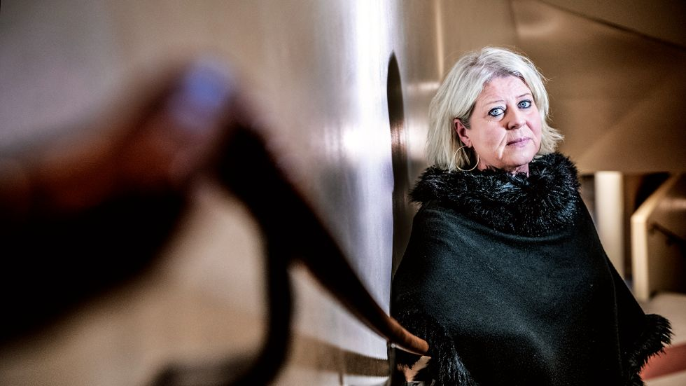 """Camilla Waltersson Grönvall (M) reagerade starkt på SvD:s artikelserie """"Den osynliga migränen""""."""