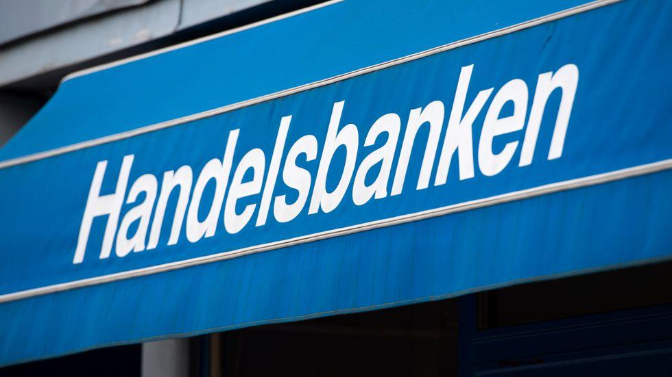 Handelsbanken hade problem med sina nättjänster under lördagsmorgonen. Arkivbild.