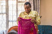 Winfred Ikatwa började läsa bibeln med barnen varje dag för att ge dem hopp och flytta fokus från pandemin.