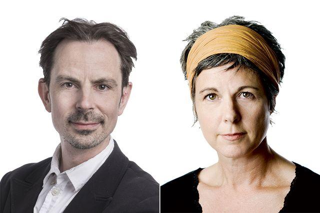 Jonas Fröberg och Malin Hoelstad.