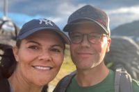 Hösten 2020 vandrade kronprinsessan Victoria och prins Daniel i den 47 kilometer långa Jämtlandstriangeln.