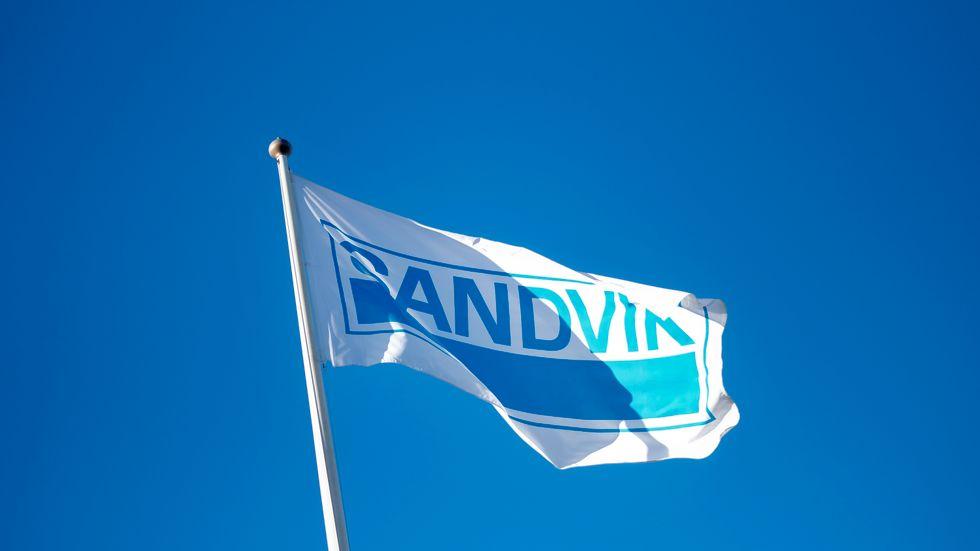 Kraftigt orderlyft för Sandvik