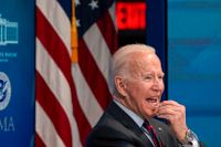 USA:s president Joe Biden, som tagit de amerikanska styrkorna ut ur Afghanistan.