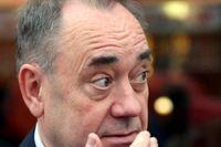 Alex Salmond, tidigare regeringschef i Skottland. Arkivbild.