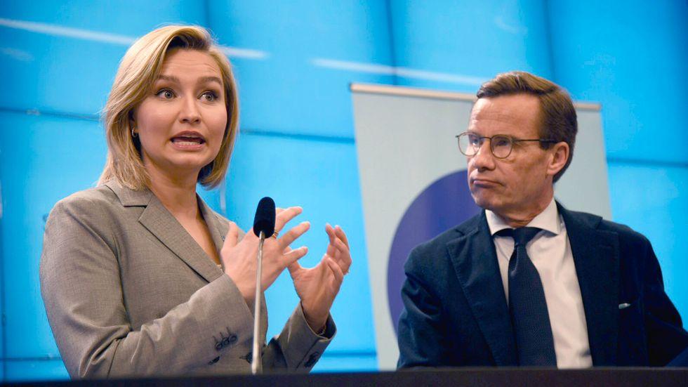 """""""Här spricker också gemenskapen mellan Moderaterna och Kristdemokraterna"""", skriver Göran Eriksson."""