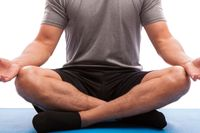Yoga på fängelser hjälper intagna att må bättre, visar en ny studie. Arkivbild.