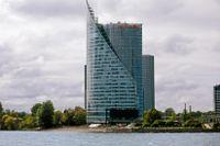 Swedbanks huvudkontor i Riga.
