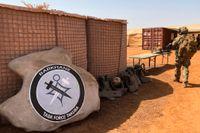 Den multinationella insatsen Task Force Takuba stöttar den franskledda Operation Barkhane, som syftar till att bekämpa islamistuppror och terrorgrupper i Sahelområdet. Arkivbild.
