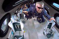 Richard Branson blev i juli den första mångmiljardären som nått utkanten av atmosfären med egen farkost.