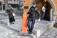 Huvudförhandling inleddes i dag i säkerhetssalen i Stockholms tingsrätt.