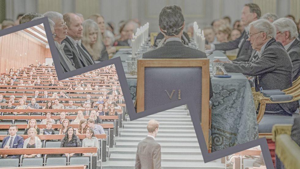 Problemen med jäv och nepotism är stora inom högskolevärlden, enligt företrädare Academic rights watch. Organisationen vill slå vakt om Svenska Akademiens frihet.