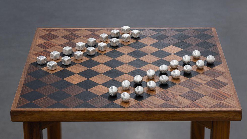 """Duchamp spelade inte luffarschack"", 2014."