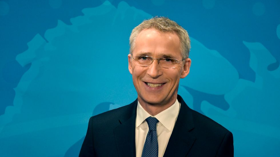 Natos generalsekreterare Jens Stoltenberg laddar inför militäralliansens 70-årsjubileum den 4 april.