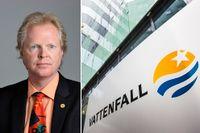 Hans Rothenberg (M) håller inte inne med kritiken mot Vattenfall efter dagens nya miljardnedskrivning.