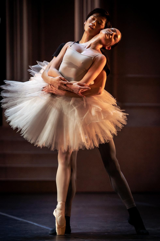 """Nurejevs """"Svansjön"""" får premiär den 10 december men kommer också som ett smakprov i balettgalan. På bilden Kentaro Mitsumori och Luiza Lopes."""