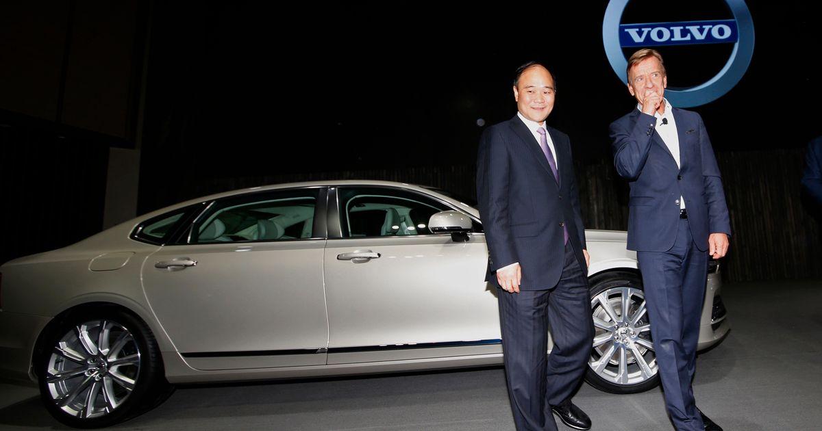 Tomas Augustsson:Volvo Cars fortfarande en kinesisk kronjuvel