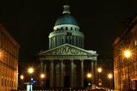 Panthéon uppfördes 1758–89 efter Jacques-Germain Soufflots ritningar.