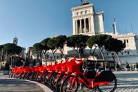 I den Eviga Staden är alltfler numera till cykel