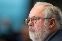 Eu:s miljökommissionär Miguel Arias Cañete.