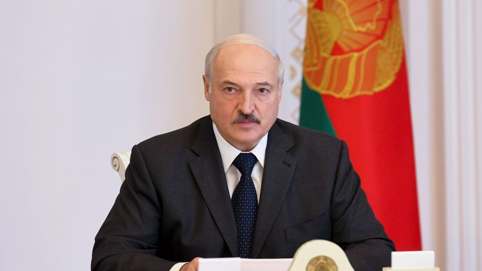 Belarus ledare Aleksandr Lukasjenko.