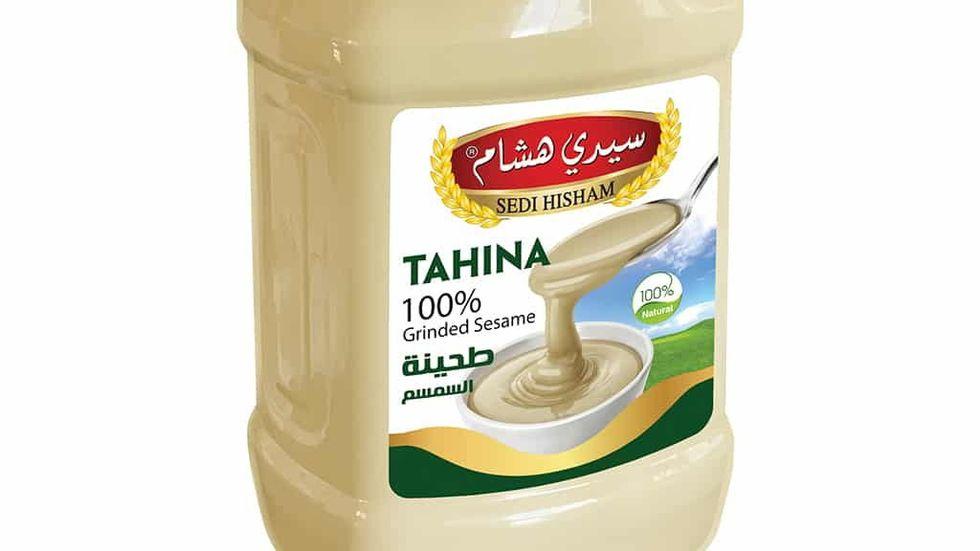 Sedi Hisham Tahina är en av produkterna som återkallas efter salmonellalarm från Livsmedelsverket. Pressbild.