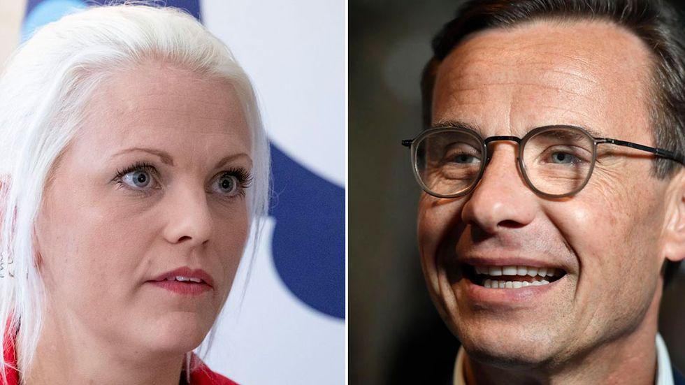 Emilie Pilthammar är mycket kritisk mot att Ulf Kristersson får sitta kvar som partiledare för Moderaterna.