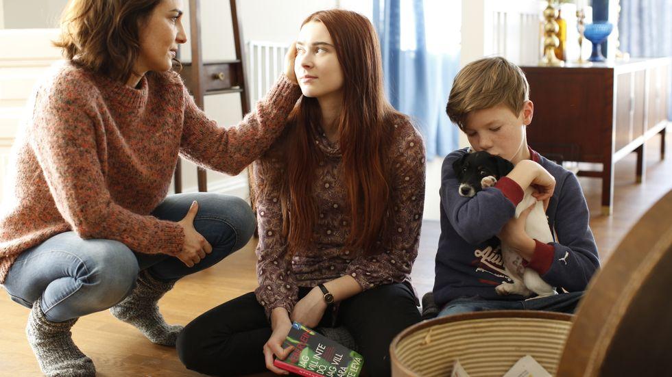"""Alexandra Rapaport gör huvudrollen som Sonja i """"Gåsmamman""""."""