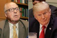 FN:s tidigare vapeninspektör Hans Blix är kritisk till Donald Trumps FN-plan.