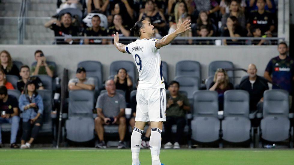 Zlatan Ibrahimovic. Arkivbild.