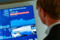 Stockholmsbörsen sjönk något under torsdagen, något som kopplas till Coronaviruset.