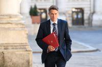Storbritanniens utbildningsminister Gavin Williamson. Arkivbild.