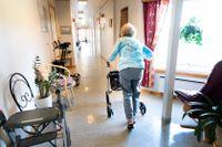 Fackförbundet Kommunal menar att det behövs fler kylanläggningar inom äldrevården. Arkivbild.