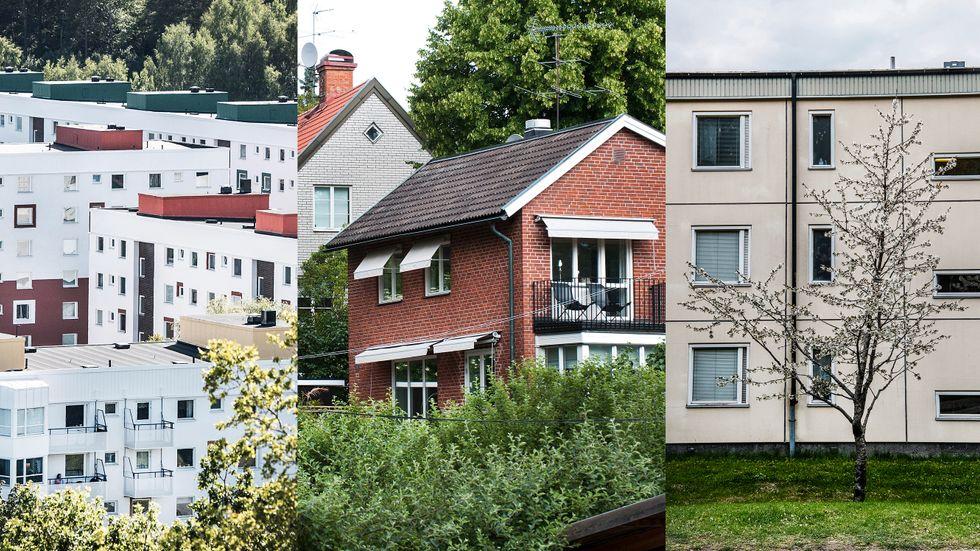 """Omvårdnads- och bevarandetanken bör också omfatta hus med andra estetiska uttryck än """"gammalt och genuint""""."""