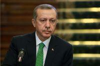 Turkiets premiärminister Recep Tayyep Erdogan.